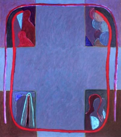 Rui Pimentel 1986 S/ TÍTULO Acrílico s/ Tela 175 x 150 cm