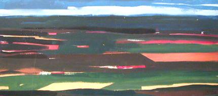 Jaime Isidoro 1992 S/ TÍTULO Pintura s/ Platex 122 x 276 cm