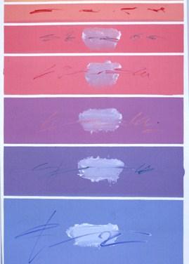 Eurico Gonçalves (PT) Aquém e além deserto, 2003 Acrílica sobre tela 146 x 97 cm Obra apresentada na XII Bienal Internacional de Arte de Cerveira, realizada de 16 de agosto a 21 de setembro de 2003.
