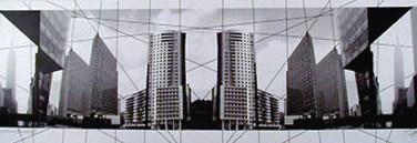 Américo Silva (PT) Projecto XV arquitecturas planos I-II/V, 2003 Fotografia 80 x 110 cm Obra apresentada na XII Bienal Internacional de Arte de Cerveira, realizada de 16 de agosto a 21 de setembro de 2003.