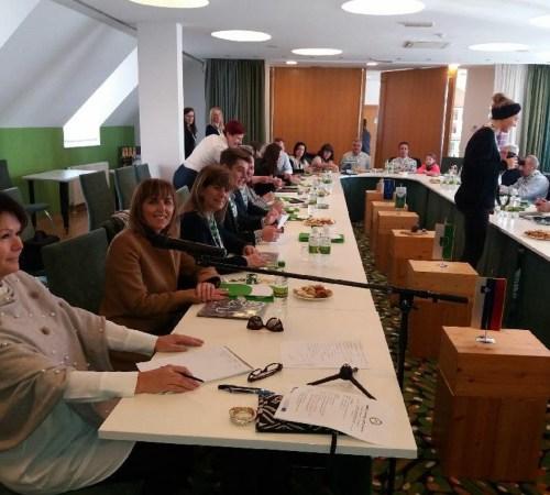 Visita da Fundação Bienal de Arte de Cerveira à Eslovénia