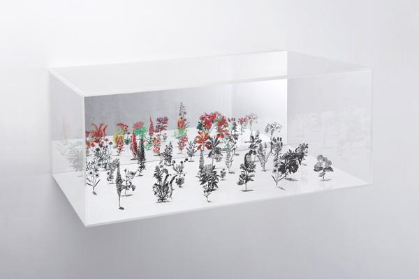 Zadok Ben-David, 2007 BLACKFIELD BOX N.1, N.2, N.3 (2)40 X 75 X 50 cm, (1) 40 x 75 x 75,5 cm