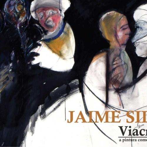 """Exposição """"Viacrucis: a pintura como interrogação"""" de Jaime Silva, 2019"""