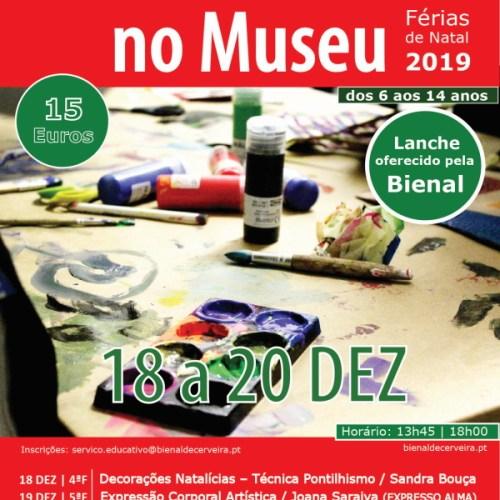 Férias Criativas no Museu – Natal 2019