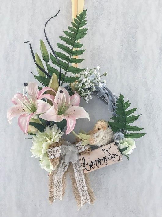 DIY-Türkranz-Sommer-Blumen-Bienchen33