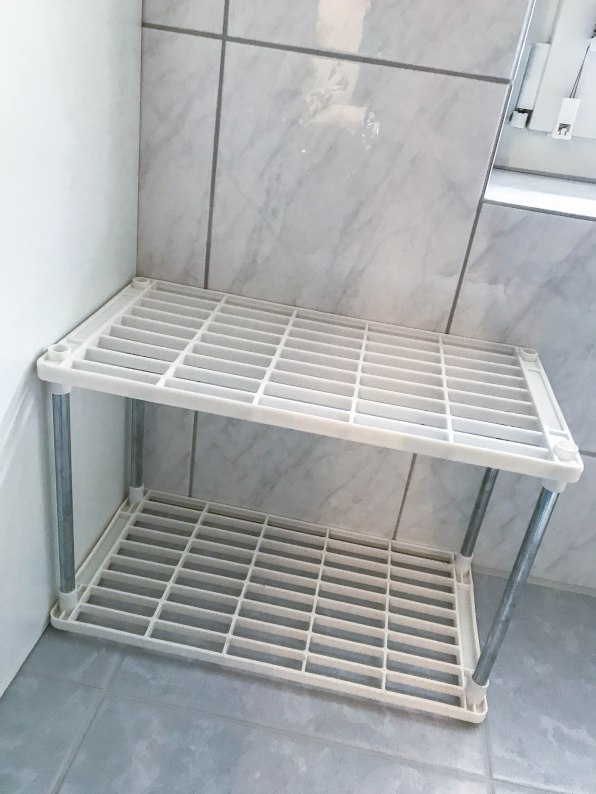 DIY Badezimmer Aufbewahrung