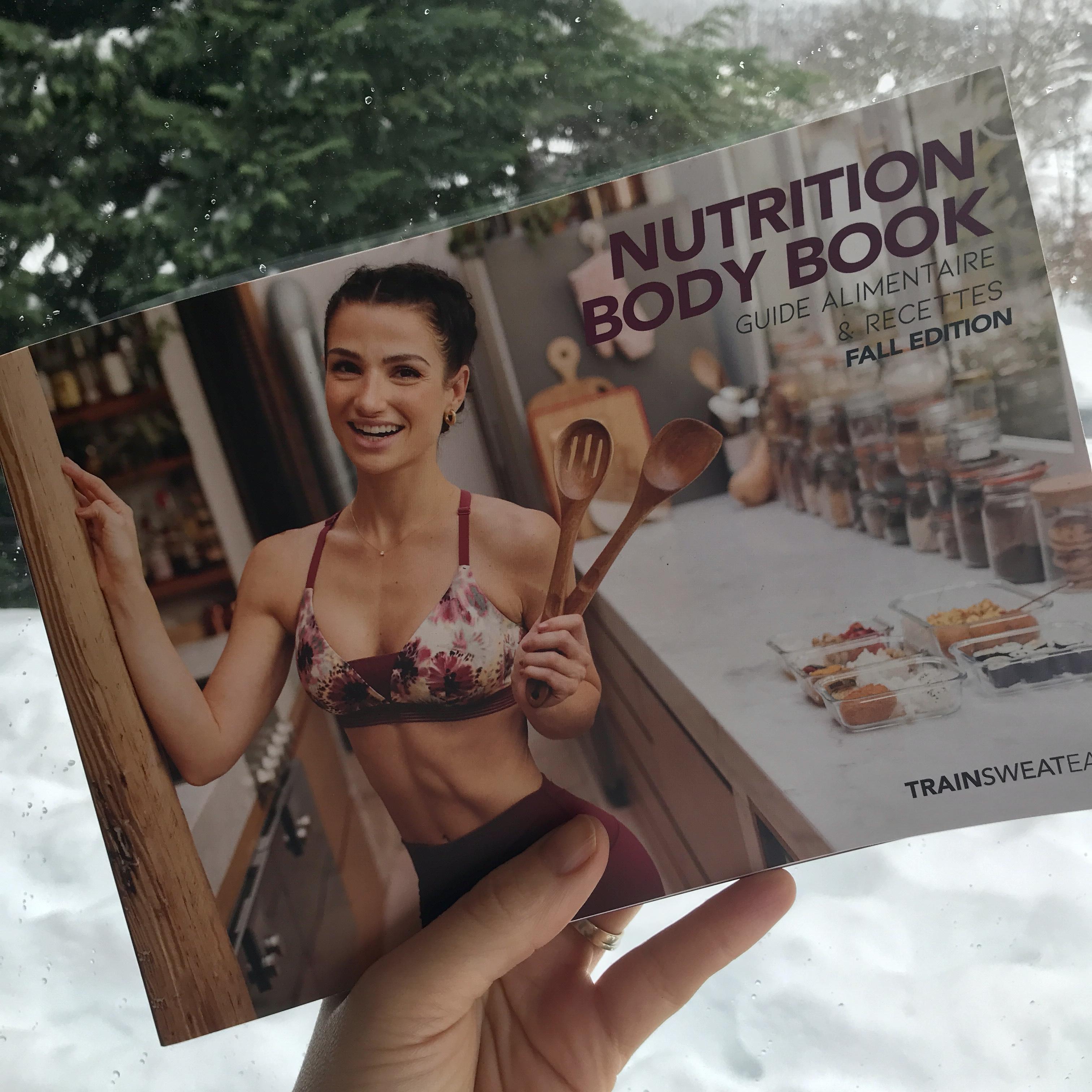 J'ai testé le Nutrition Body Book de Sissy Mua