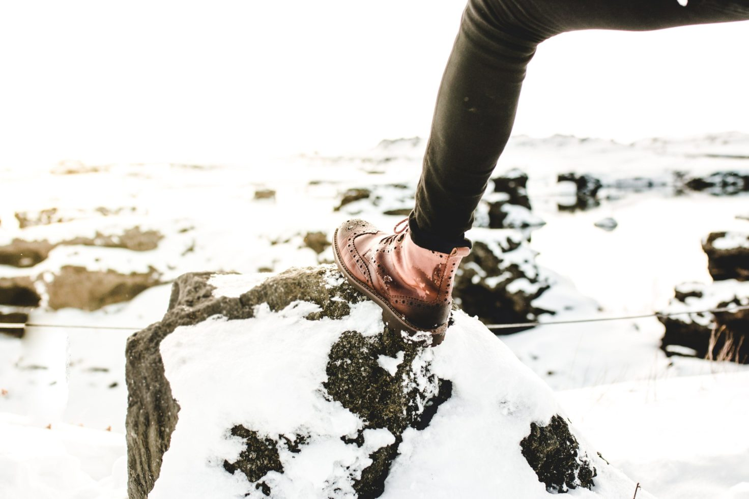 5 paires de chaussures pour l'hiver