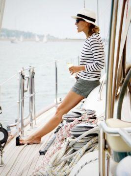 comment porter la marinière femme