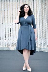 comment bien porter la robe portefeuille