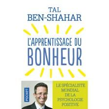 Couverture l'apprentissage du bonheur spécialiste mondiale de psychologie positive être heureux
