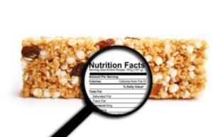 lire les étiquettes nutritionnelles