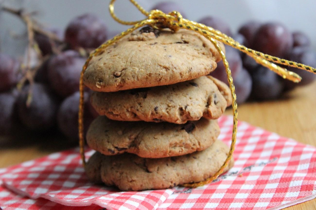 Cookies végétaliens au beurre de cacahuètes