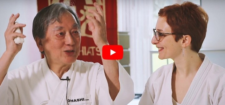Interview de Wataru Ohashi, grand maître Shiatsu