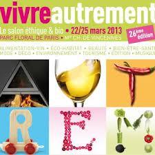 Salon Vivre Autrement en mars 2013
