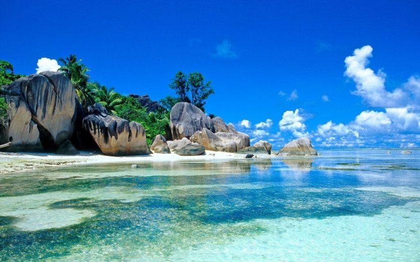 1680_Wonderful Beach in Seychelles