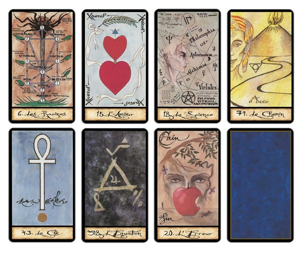 tarots divinatoires oracles jeux de developpement personnel. Black Bedroom Furniture Sets. Home Design Ideas