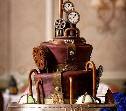 Invitée à un mariage Steampunk !