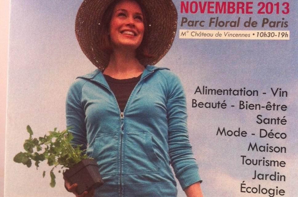 Salon Marjolaine – du 9 au 17 novembre