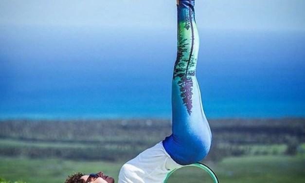 Yoga Wheel, nouvel accessoire de yoga