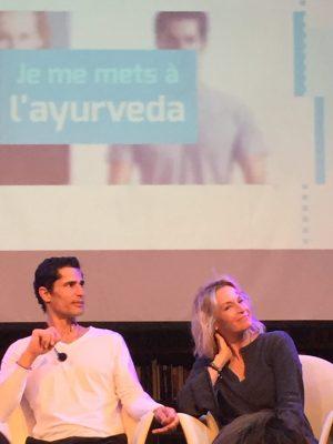 Yogi Cameron et Estelle Lefébure