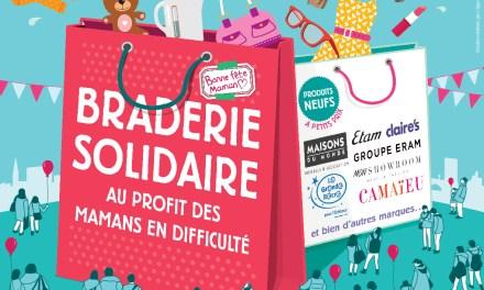 Braderie solidaire «Mamans en fête» pour soutenir la parentalité des familles en difficulté
