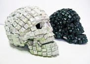 skulls made with keyboard rev