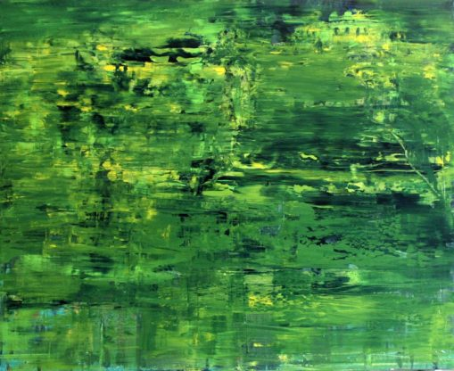 GERLINDE KOSINA, GLORIETTE, Öl auf Leinwand, 80 x 100 cm, 2014