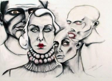 Herwig Maria Stark, THE SIN, 70 x 100 x 4 cm, pigment print, mixed media, 2010_02