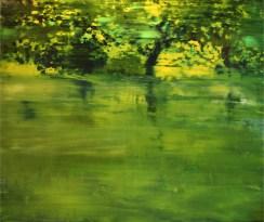 GERLINDE KOSINA, I AM Öl auf Leiwnand, 80 x 100 cm