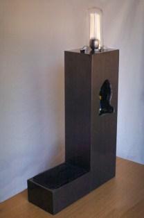 Glen Farley, SURVEILLANCE, kineticsculpture, 110 x 50 x 20 cm, 2015 (view 1)