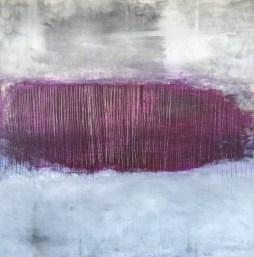 Agnieszka Ceccarelli, UNFORGIVEN, acrylic on canvas, 100 x 100 cm, 2016