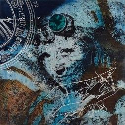 Atelier COOLPOOL (Daisy+Manfredo) - Die Fliegerin, 90 x 90 cm, photography exposure, oil on canvas, 2016
