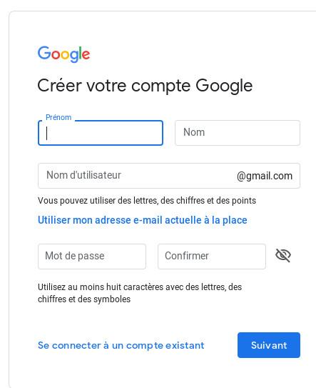 comment créer un adresse gmail guide débutant