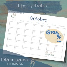 Cover Freebies calendrier octobre 2019