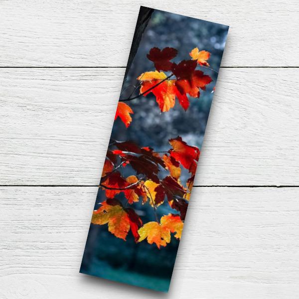 autumn bookmark printable