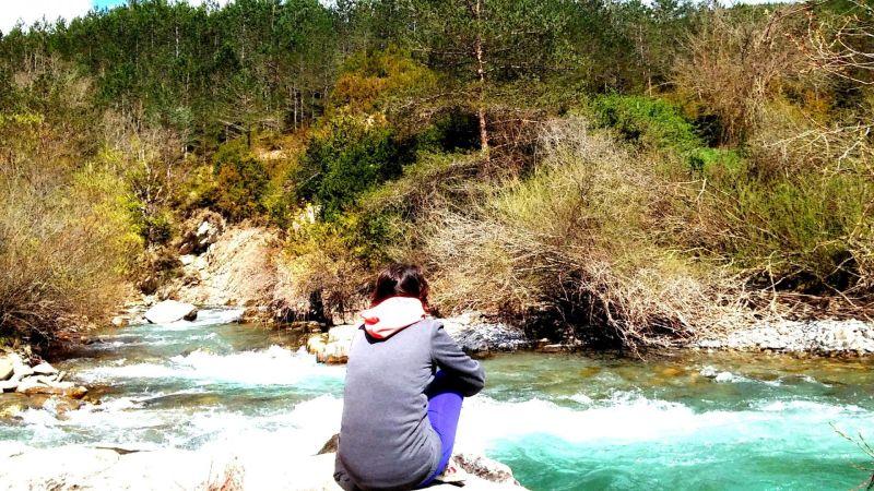 Eso me pasa cuando estoy en el río.
