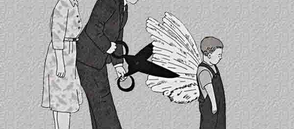 No les cortes sus alas con tus miedos.