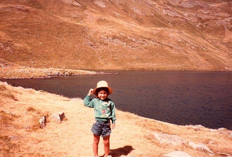 Ibón de Lacherito, 1985.