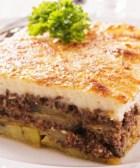 Deliciosa moussaka de carne