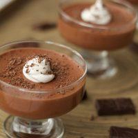 Cómo hacer Mousse cremoso de chocolate