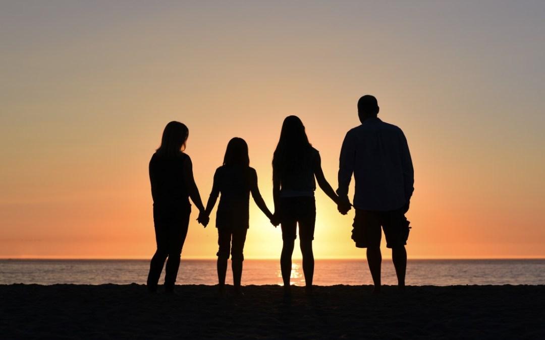 La pleine présence en famille © Jude Beck