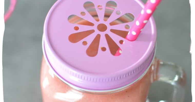 Smoothie fraises-coco – La Mandorle