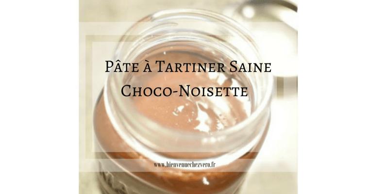 Pâte à tartiner choco-noisettes saine (i-cook'in)
