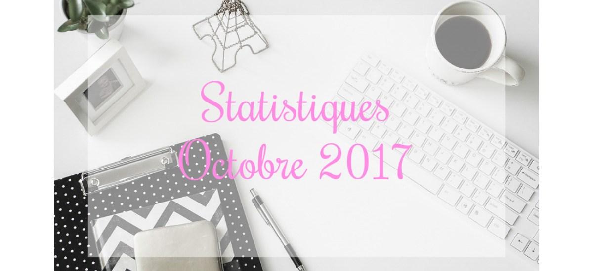Statistiques – Octobre 2017