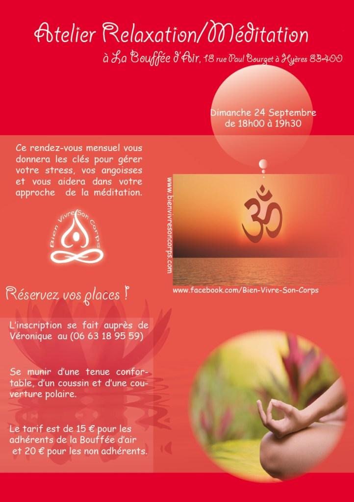Méditation Septembre - La Bouffée d'air