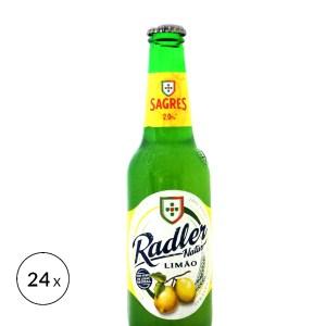 Sagres Radler Limão • 24x 33cl