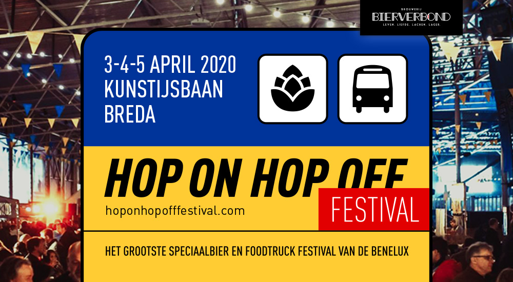 Hop On Hop Off Festival Breda 2020