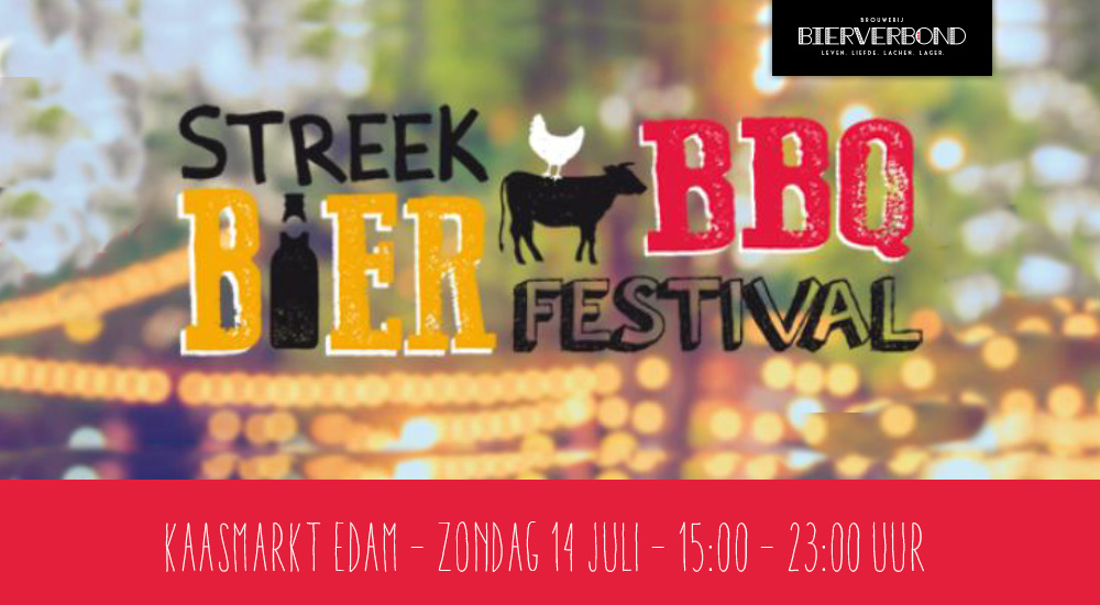 Bierverbond is aanwezig op het Streek bier Festival in Edam