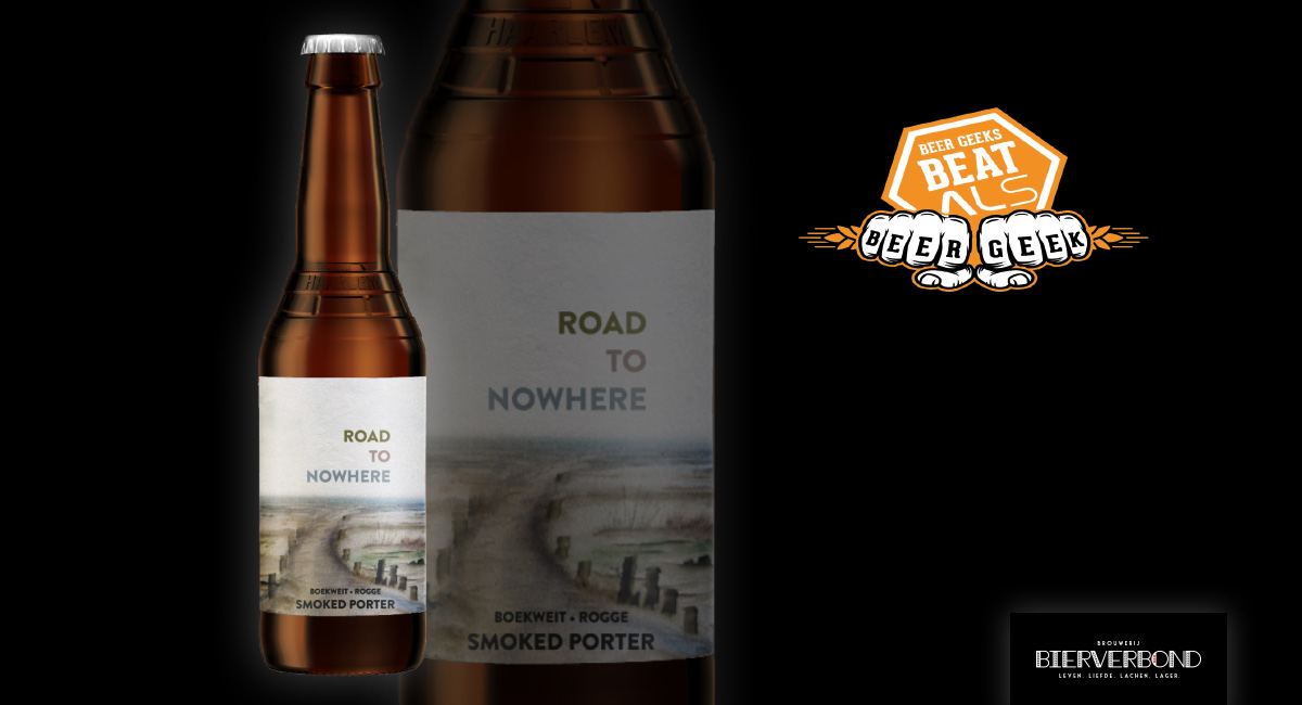 Road to nowhere beer from Brouwerij Bierverbond Amsterdam